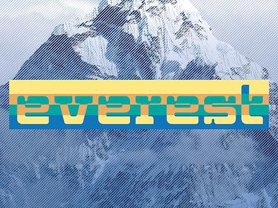 Everest Hiking vintage hiking hike himalayas logo mountaineering mountain everest mount everest