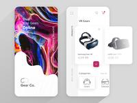 VR Gear Online Shopping