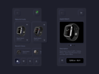 Skeuomorphic mobile app design neumorphism neumorphic skeuomorphism skeuomorphic apple watch product grey vibrant online shopping black ux ui illustration android ios apple watch dark app mobile