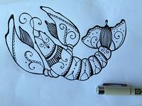 Crawfishdrawing