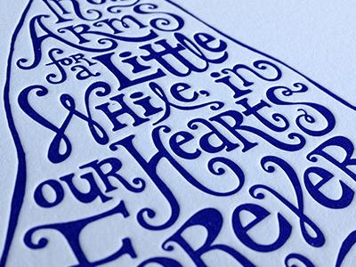 Angel—detail  letterpress