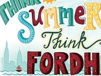 Think Summer Think Fordham
