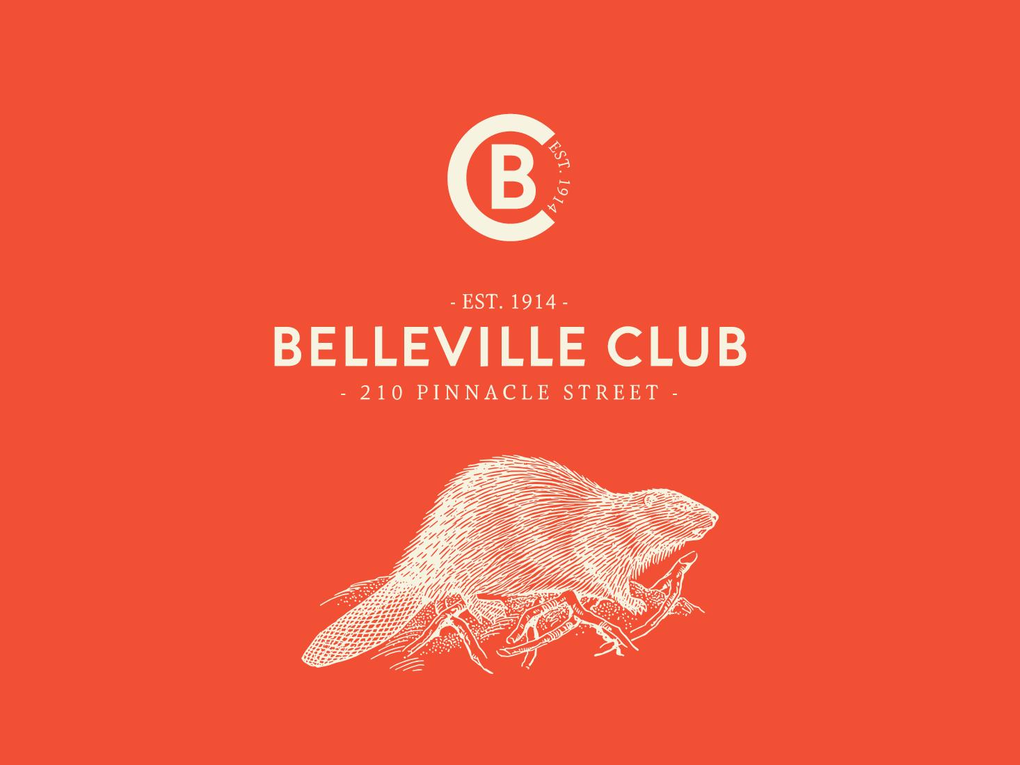 BC Rebrand logo belleville badge club