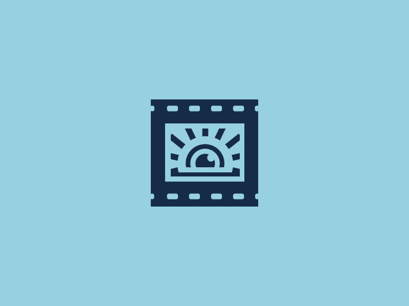 Sightline video sightline sight eye blue logo subtitle accessible cinema film