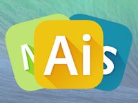 iOS 7 style Creative Cloud