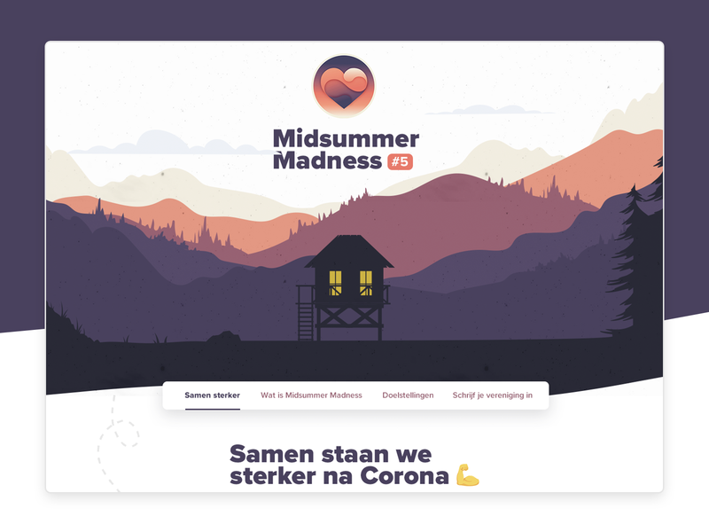 Midsummer Madness #5 agency website non-profit free covid-19 heart campaign outdoor design