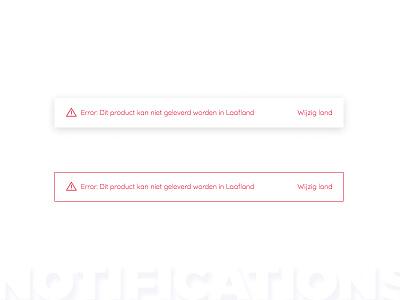 Error message ⚠️ warning danger notifications ui ux error