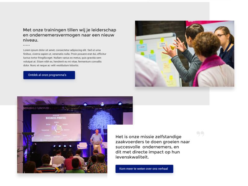 Puur ondernemen 👩🏽💻 web ui site branding design