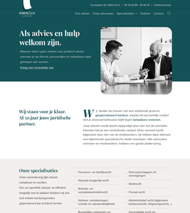 Omnius Lawyers 👩💼 lawyers webdesign website redesign justice lawyer