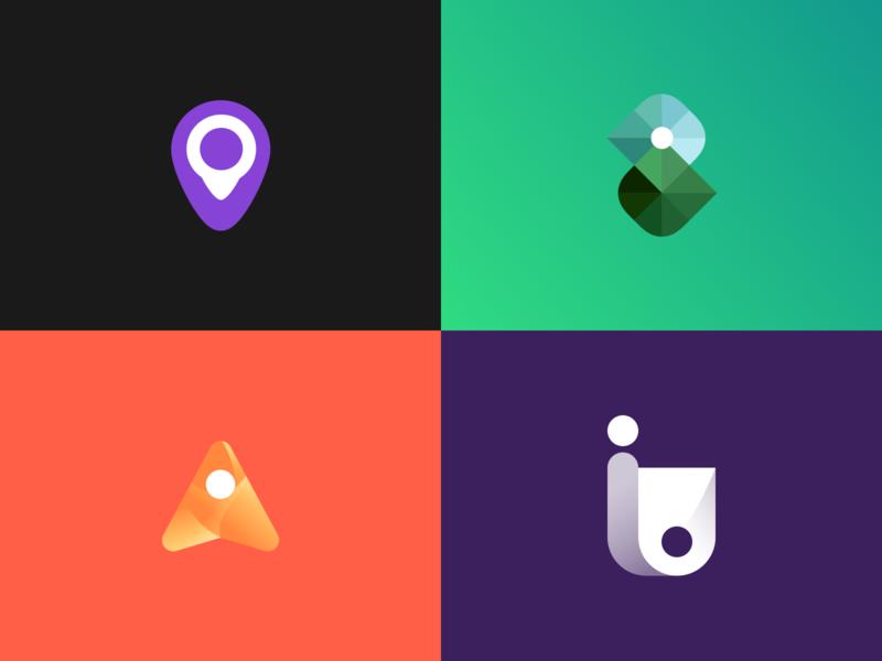 Icons visual brand logo icon color