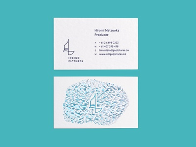 Indigo Pictures Business Card