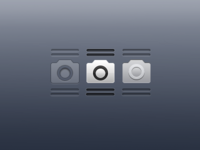 Camera Grabber Icons