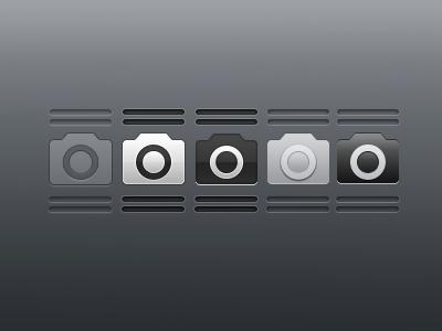 Camera Grabber Icons  jailbreak themes lockscreen deflo dusk caroline