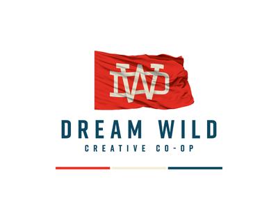 Dream Wild dallas logo flag monogram dw wild dream