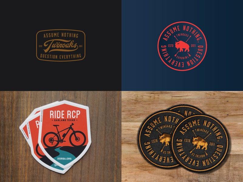 2018 Top 4 design badge 2018 top4shots stickers patch patches dribbble top4