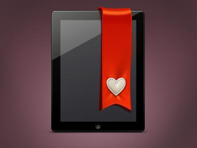 Bookmark icon bookmark favorite heart ipad