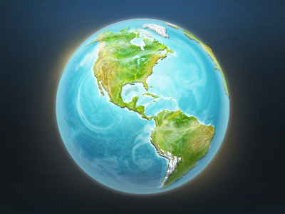 Earth earth globe web map continent icon free planet