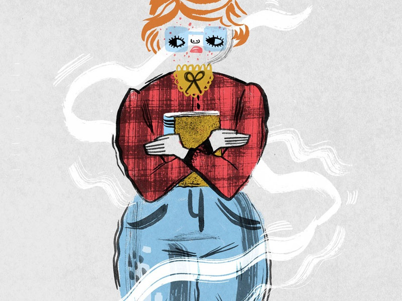 What about Barb? illustration the upsidedown stranger things barb
