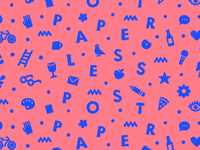 Paperless Post Pattern