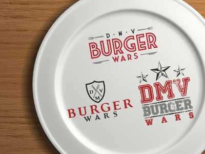 DMV Burger Wars - Logo Concepts logo design