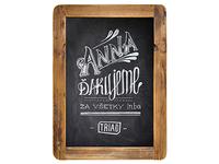 Anna Chalkboard