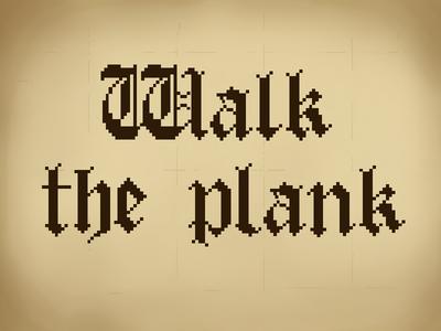 Pirate Pixel Logo pixel logo medieval gothic logo pixel pirate
