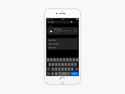 iOS - Spotlight Search places search spotlight mapstr ios