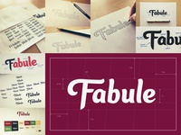 Fabule Custom Type Logo: Case Study