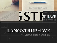 Langstruphave Custom Type Logo: Case Study