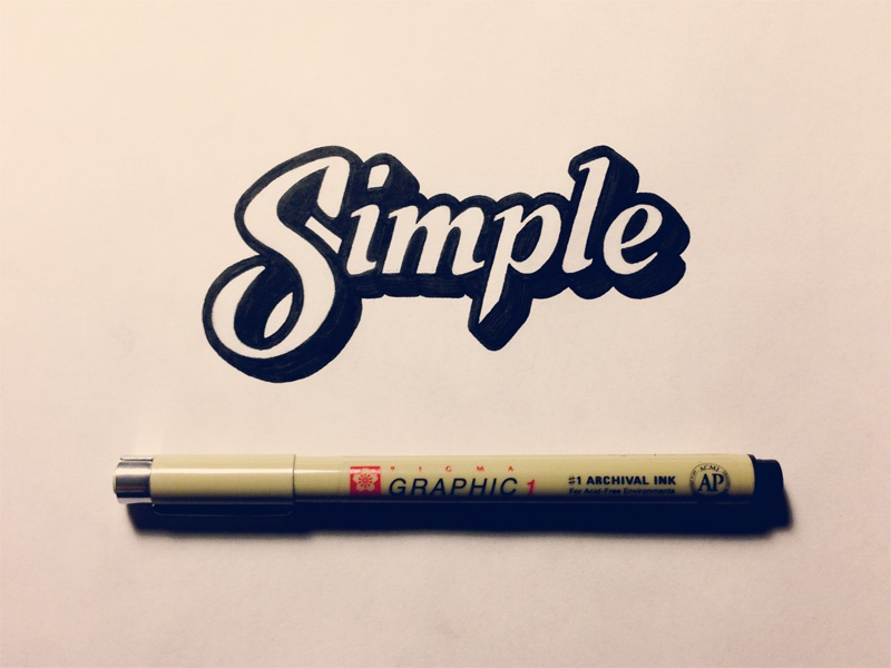 simple by sean mccabe dribbble dribbble