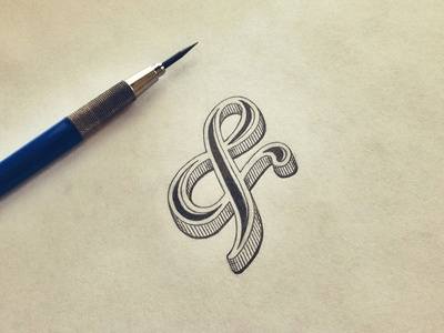 You never need an excuse to draw an ampersand.