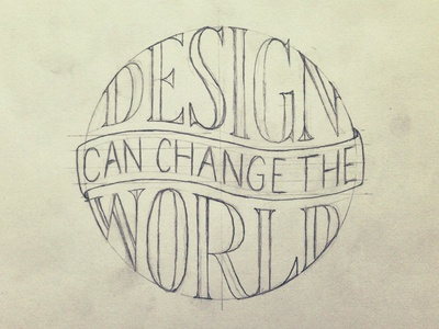 Design Can Change The World