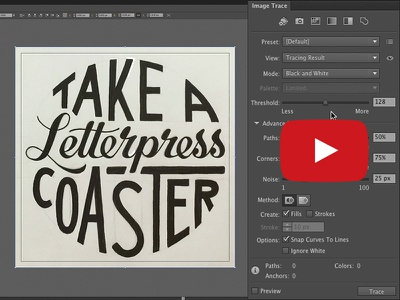 How To Digitize Hand Lettering lettering hand lettering digitize vector process image trace