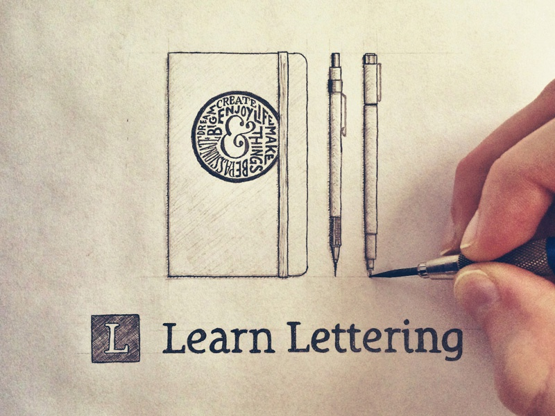 Learn Lettering 2.0 - FREE Hand Lettering Class learn lettering hand lettering lettering