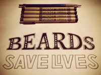 Beards Save Lives