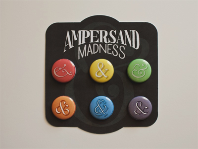 Ampersand madness dribbble