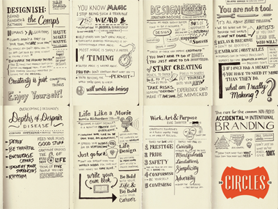 Circles Conference 2012 – Sketch Notes
