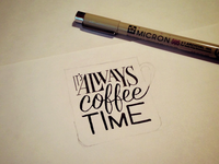 Its Always Coffee Time – Sketch