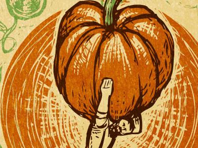 Clarion River Organics Harvest Poster