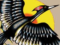 Lord god bird tattoo