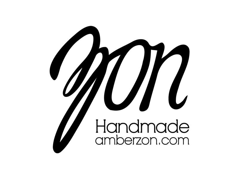 Zon logo zon handmade hand lettering logo design simple minimalst