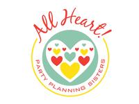 All Heart! logo design