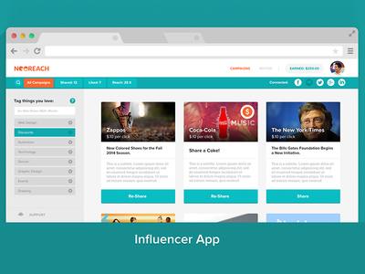 NeoReach Desktop Influencer App