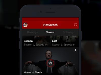 HotSwitch TV Rankings