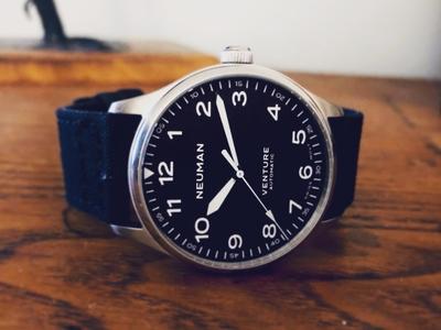 Prototype field watch design