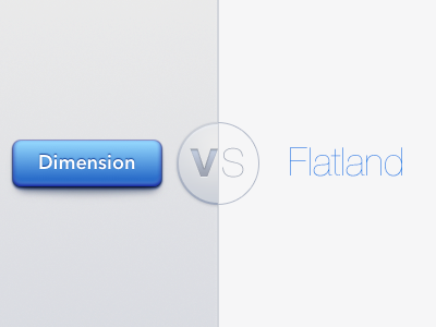 Humanist Interface: Dimension VS Flatland humanist interface aesthetics usability invisible