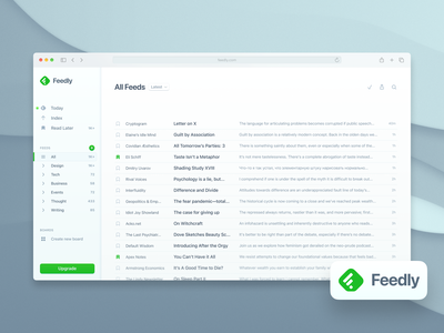 Feedly Redesigned