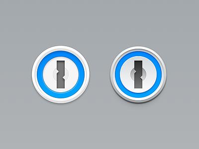 1Password Icon Redesign