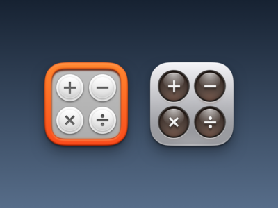Calculator icons today