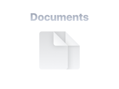 Notes app documents